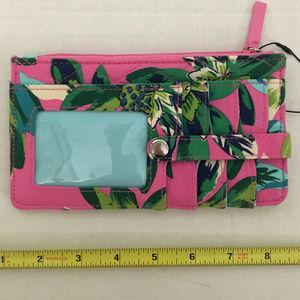 BNWT Vera Bradley Ultimate Card Case RFID